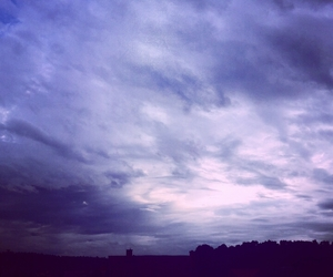 clouds, country, and purple image
