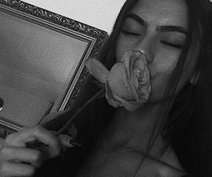 babes, flower, and instagram image