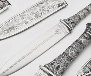 dagger and white image