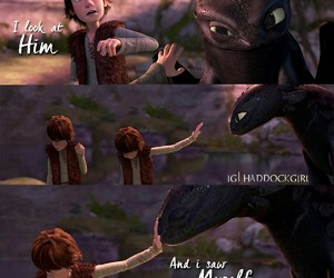 hiccup haddock, valka, and how to train your dragon image
