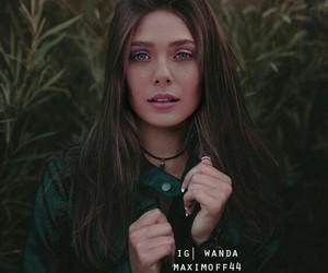elizabeth olsen, scarlet witch, and wanda maximoff image