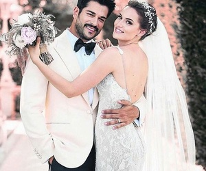 wedding and fahriye evcen image