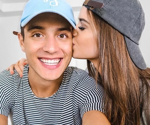couple, jess and gabriel, and goals image