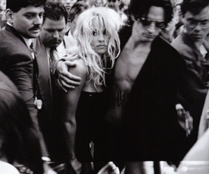 Pamela Anderson and tommy lee image