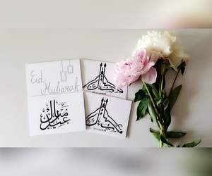 arabic, flowers, and handmade image