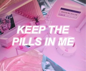 drugs and pink image