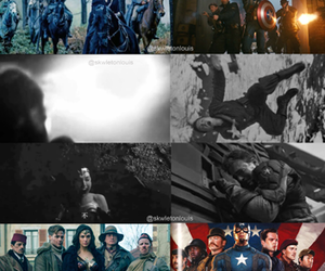 Avengers, captain america, and DC image