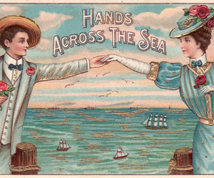 sea and vintage image