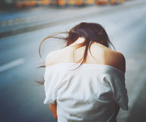 girl, lonely, and photography image