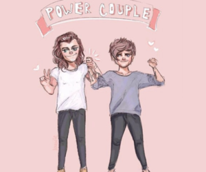 header, Harry Styles, and louis tomlinson image