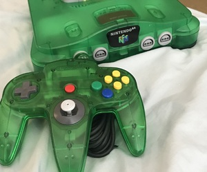 aesthetic, green, and n64 image