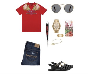 abercrombie and fitch, givenchy paris, and gucci image