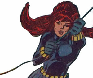 black widow and marvel comics image