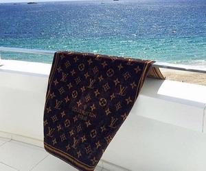 beach, fashion, and Louis Vuitton image