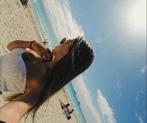 model, praia, and summer image