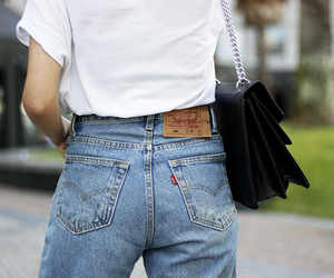 blogger, fashion, and jeans image