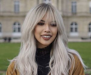 grunge and silver hair image