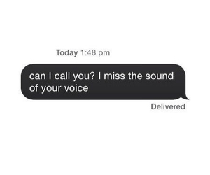 love, miss, and voice image