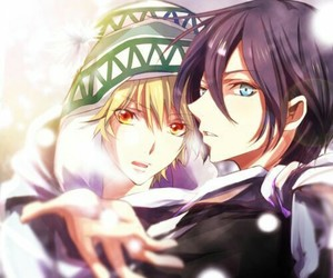fan art, noragami, and anime boy image