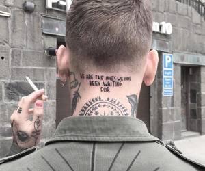 tattoo, grunge, and man image