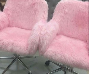 chairs, pink, and baby pink image