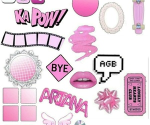 overlay, edit, and pink image