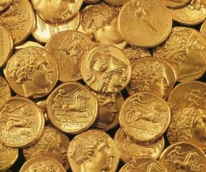 coin and gold image