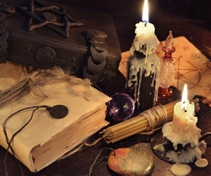 book of shadows and wicca store image