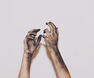 aesthetic and hands image