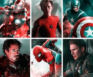 Avengers, robert downey jr, and captain america image