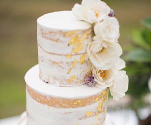 inspiration, cake, and wedding image