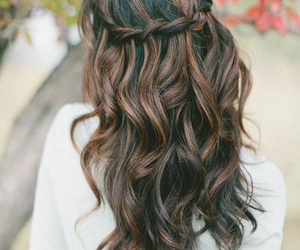 beautiful, color, and wavy hair image