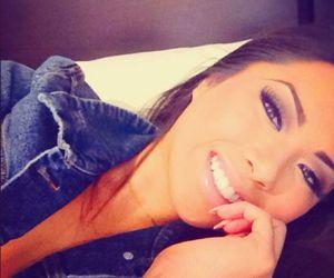 girl, smile, and make up image