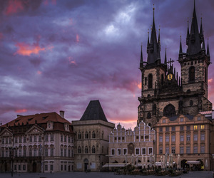 prague, architecture, and czech republic image