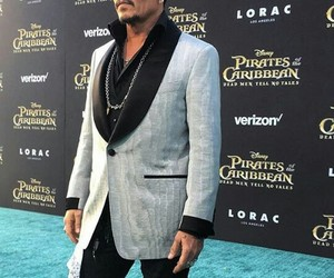 johnny depp, los angeles, and pirates of the caribbean image