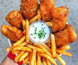 food, delicious, and fast food image