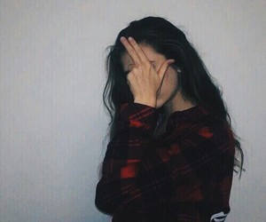 girl, tumblr, and grunge image