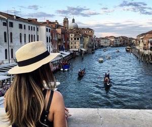 travel, venetië, and venezia image