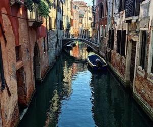 travel, venezia, and venetië image