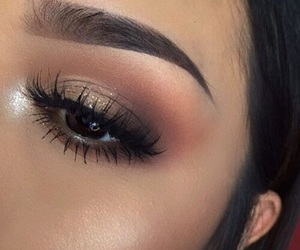 eye, weheartit, and makeup image
