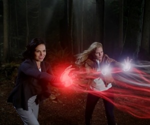 ️ouat, onceuponatime, and swanqueen image