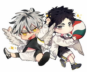 chibi, haikyuu!!, and hq!! image