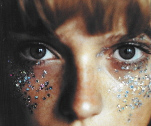 glitter, eyes, and sparkle image