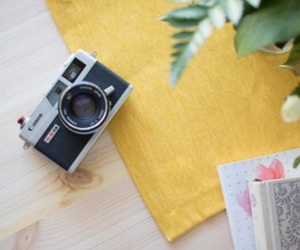 camera, fashion, and makeup image