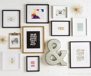 decorations, custom framing, and diy image