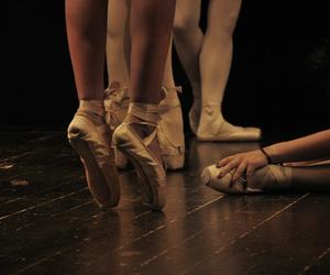 ballerina, dance, and classique image