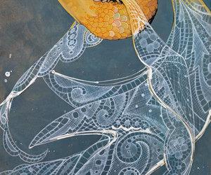 fish, goldfish, and pretty image