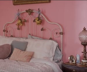 aesthetic, bedroom, and pink image