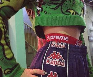 fashion, style, and supreme image