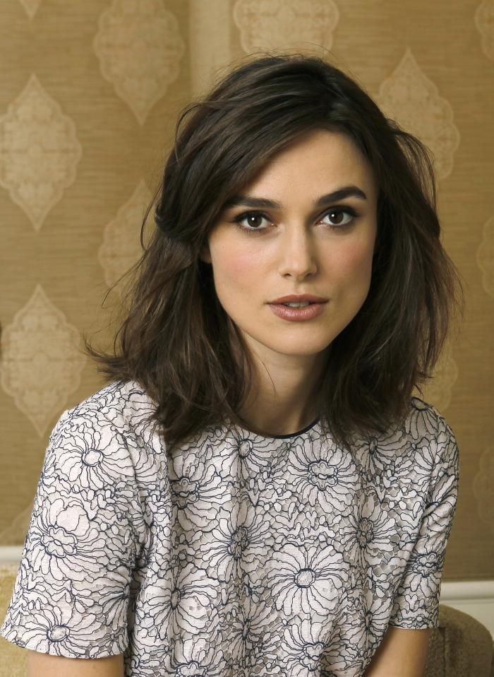 Keira Knightley Long Bob Discovered By Julie On We Heart It